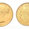 Sovereign 1850 ! Victoria - Young Head