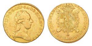 Sovráno / Souverain d'or 1784 A - Josef II.
