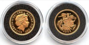 1 Sovereign - Elizabeth II. PROOF Cameo
