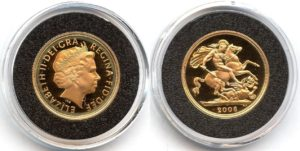 1 Sovereign - Elizabeth II. PROOF Cameo