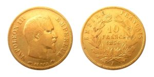 10 Frank 1856 A Napoleon III.