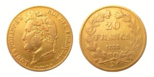20 Frank 1838 A - Louis Philippe I. - Vzácný