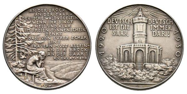 Karl GOETZ - 1930 Okupace Sárska