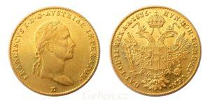 Dukát 1835 E ! František II. - Vzácný