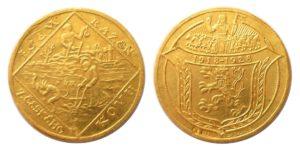 2 Dukát 1928 sv. Prokop / sv. Václav - Jsem ražen z českého kovu