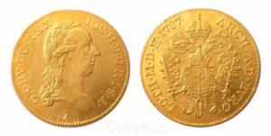 Dukát 1787 A ! Josef II.