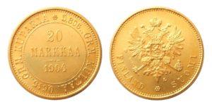20 MARKKAA 1904 Mikuláš II. Vzácná !