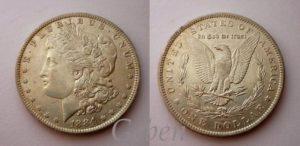 Morgan Dollar 1884 O