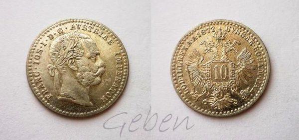 10 Krejcar 1872