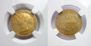Zlatý 1/2 sovereign 1858(sy) - Rarita!