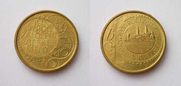 ČNB 10. výročí České měny