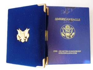 Luxusní etue na American Eagle - 1/4 Oz
