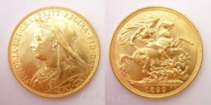 Sovereign 1899 M Victoria