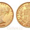 Sovereign 1882 Sy Victoria - Young Head / Štít