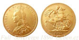 Sovereign 1890 Victoria