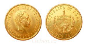 5 Pesos 1915 ! CUBA