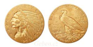 5 Dollar 1909 Indian Head - Philadelfia !