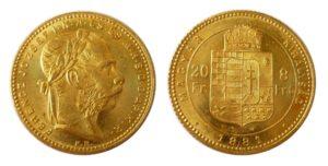 8 Zlatník - 8 Forint 1881 KB