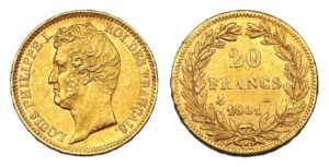 20 Frank 1831 A - Louis Philippe I. - Vzácný