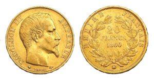 20 Frank 1860 BB - Napoleon III.