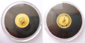 15 Dollars Austrálie 1999 - NUGGET