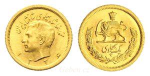 1 PAHLAVI 1336 - 1957 Šáh Mohammad Reza Pahlaví