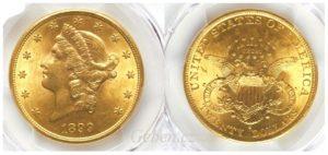 20 Dollars 1899 S LIBERTY - Double Eagle MS 62 !