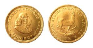 1 Rand 1967 Jižní Afrika - Jan van Riebeeck