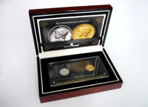 Zlatý Merkurový desetník - Mercury Dime 1916 - 2016 Vzácné